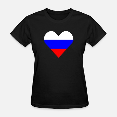 In Russia With Love love Russia - Women's T-Shirt