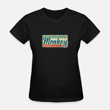 Evolution Monkey Monkey Animal Monkeys Primate Gift Wild Evolution - Women's T-Shirt