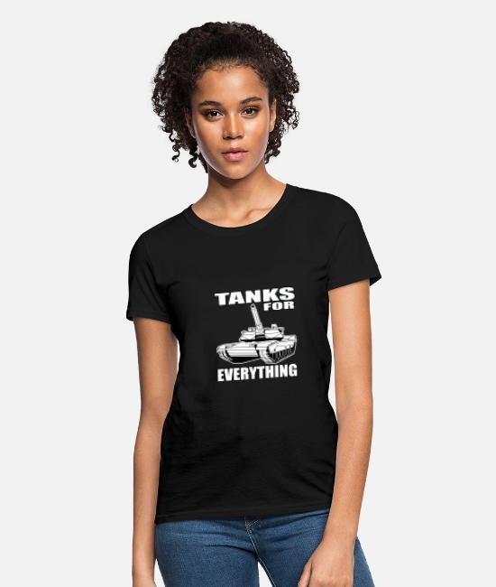 Temporary Soldier T-Shirts - Tanks For All Purposes All Soldier Gift - Women's T-Shirt black