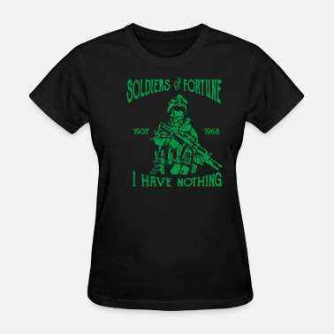 Fortune Telling Soldiers of Fortune - Women's T-Shirt
