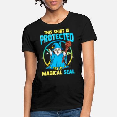 Trick Or Treat This Shirt is Protected by Magical Seal Halloween - Women's T-Shirt