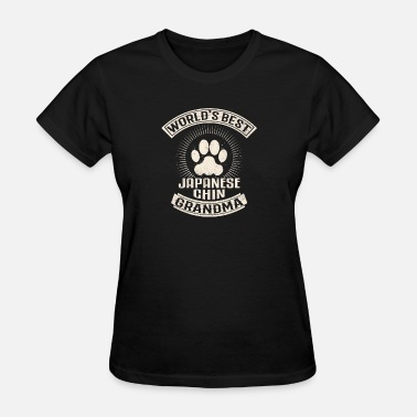 Japanese Grandma World's Best Japanese Chin Grandma - Women's T-Shirt