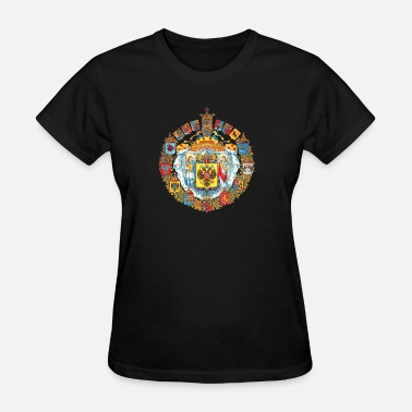 Borscht 800px Greater coat of arms of the Russian empire - Women's T-Shirt
