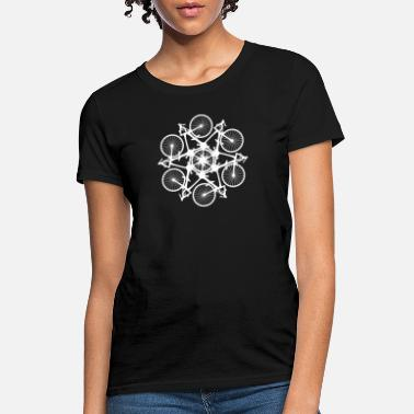 Logo Bicycle Circle Kaleidospoke Logo - Women's T-Shirt