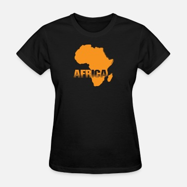 Africa Map Designs Africa Map - Women's T-Shirt