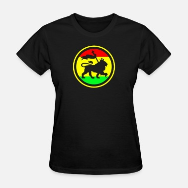 Rasta Cartoon Rasta Lion - Women's T-Shirt