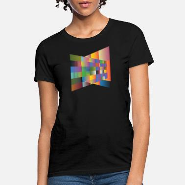 Multi Colored Multi colored plane - Women's T-Shirt