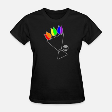 Sex Flower rainbow flower - Women's T-Shirt