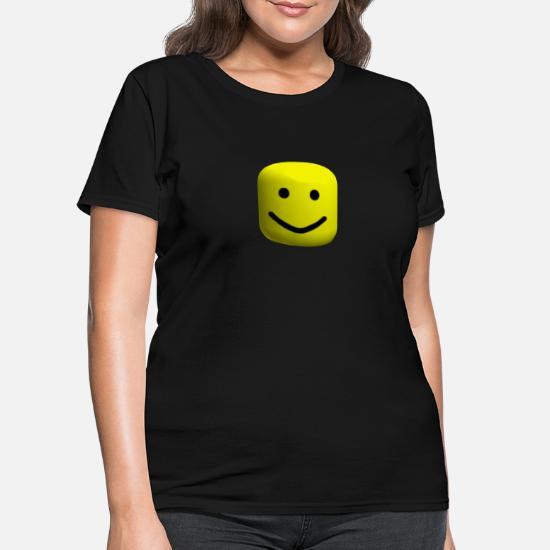 Noobs Shirt Support Noobs Roblox Roblox Big Noob Head Women S T Shirt Spreadshirt