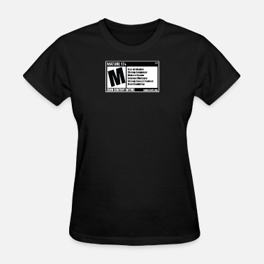 Rated M ESRB M Rating - Women's T-Shirt