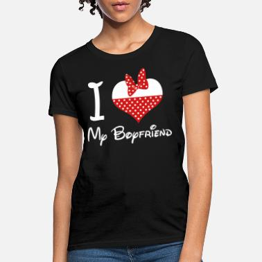 I Love i_love_my_boyfriend - Women's T-Shirt