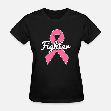 Breast Cancer Awareness At Target Breast Cancer A Breast Cancer Pink Ribbon Fighter - Women's T-Shirt