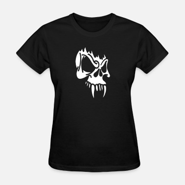 Killer Culture Wicked Skull With Fangs - Women's T-Shirt