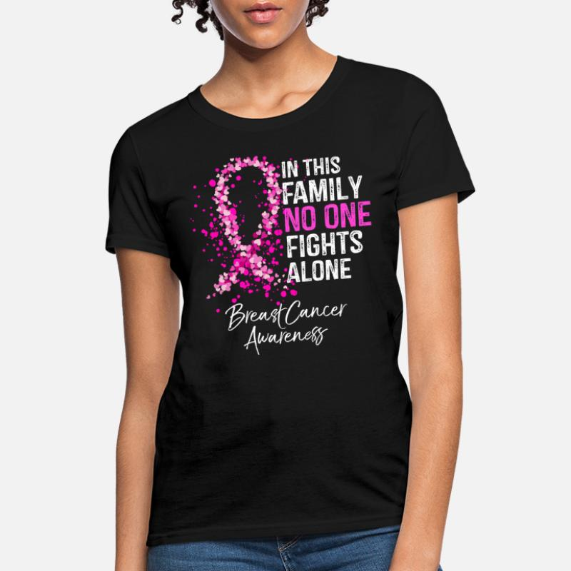 Tackle Breast Cancer Youth T-Shirt Pink Ribbon Awareness Football Cure Kids Tee