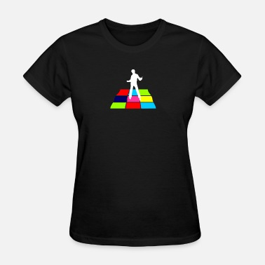 Disco Dance Disco Man On Dance Floor - Women's T-Shirt