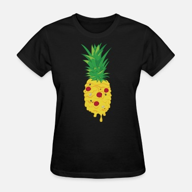 No Pineapple On Pizza Pizza Pineapple - Women's T-Shirt