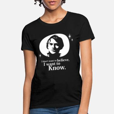 Carl Carl Sagan I Want to Know car - Women's T-Shirt