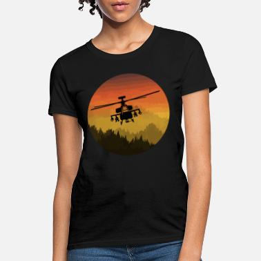 Attack Helicopter USAF Military Attack Helicopter T-Shirt - Women's T-Shirt