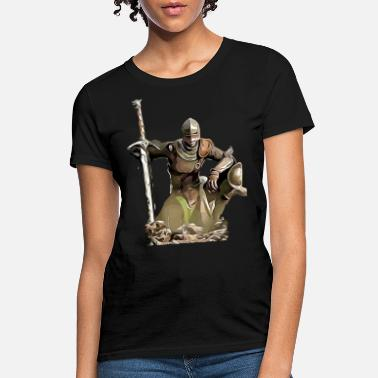 Knight, warrior, gift, middle ages, gift idea - Women's T-Shirt