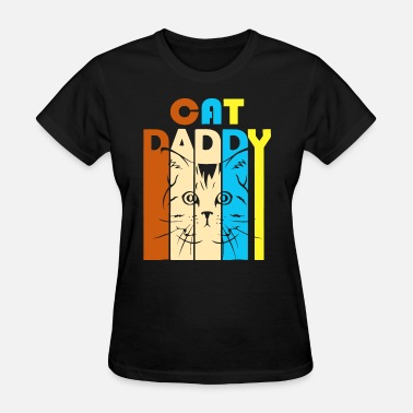 Cat Daddy cat retro vintage daddy cat t shirt - Women's T-Shirt