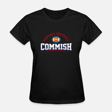 American Trophy Fantasy Football Commish, Trophy, League - Women's T-Shirt