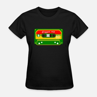 Red Ska Reggae Mix Tape - Women's T-Shirt