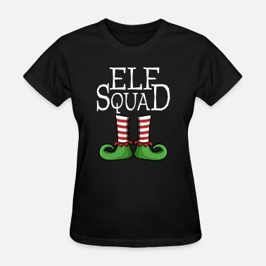 Squad Elf Squad - Matching Team Group X-Mas Gift Idea - Women's T-Shirt
