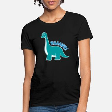 6 Year Old Dinosaur for 6 year old boys! - Women's T-Shirt