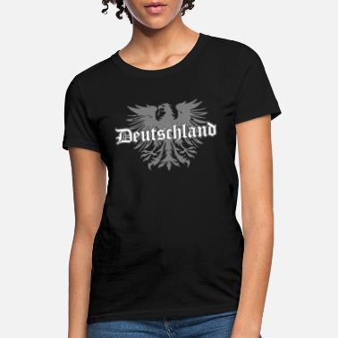 German Eagle Deutschland Eagle German Crest Germany Soccer Foot - Women's T-Shirt