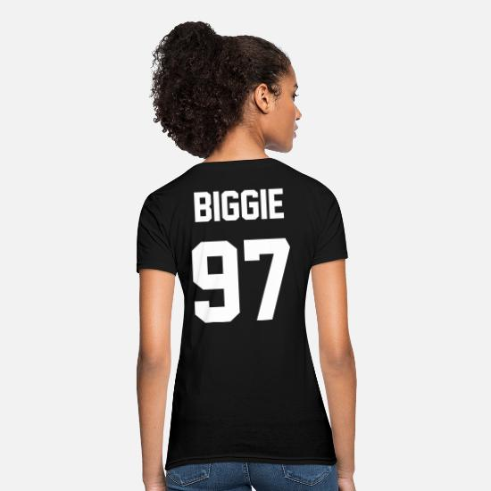Hip Hop T-Shirts - Biggie 97 - Women's T-Shirt black