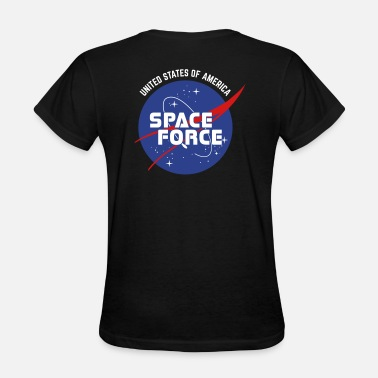 United Retro Logo | Space Force T-Shirt - Women's T-Shirt