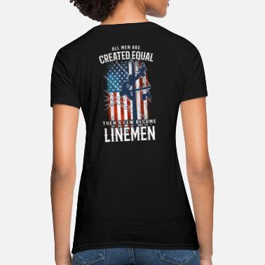 Wrench lineman shirts for men - Women's T-Shirt