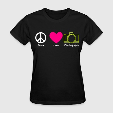 peace love and photos - Women's T-Shirt