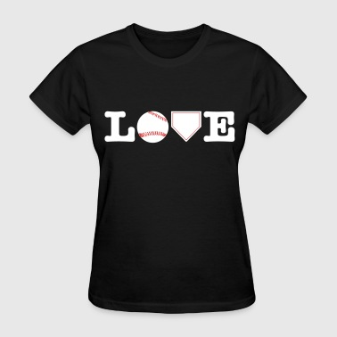 Love Baseball - Women's T-Shirt