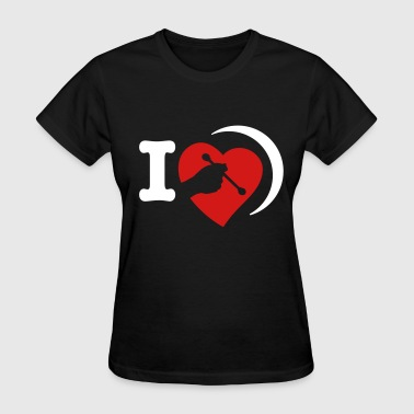 Love bodhran - Women's T-Shirt