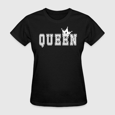 Valentine's Matching Couples Queen Crown - Women's T-Shirt