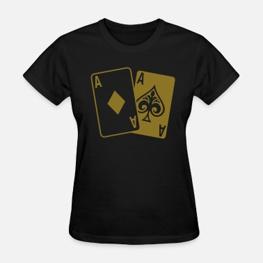 Poker Cards Poker - Poker Cards - Women's T-Shirt