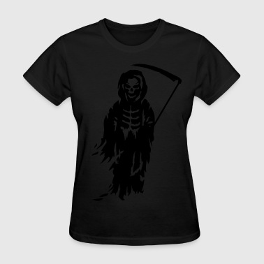 A Grim Reaper - Death with a scythe - Women's T-Shirt