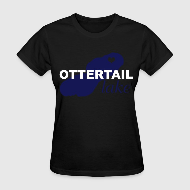 Ottertail Lake Love - Women's T-Shirt