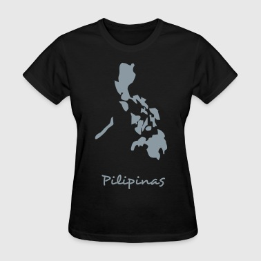 philippines map - Women's T-Shirt