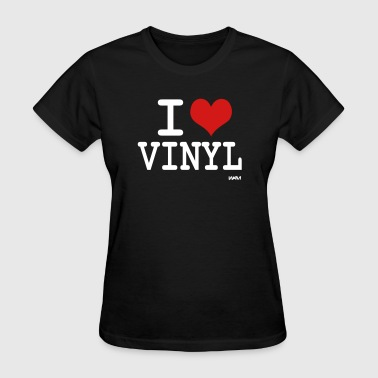 i love vinyl by wam - Women's T-Shirt