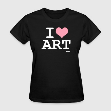 i love art by wam - Women's T-Shirt
