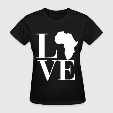 Love Africa -SimplyDope - Women's T-Shirt