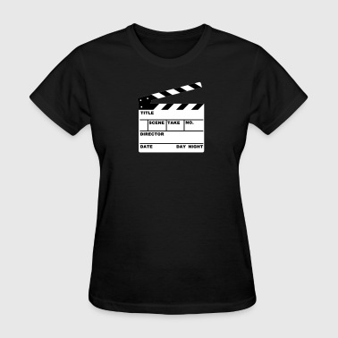 clapperboard (writable flex) - Women's T-Shirt