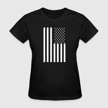 Stars and Stripes American Flag - Women's T-Shirt