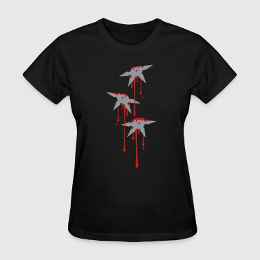 Throwing Star Wound - Women's T-Shirt