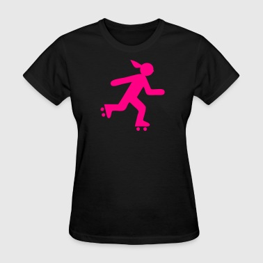 Roller Girl - Women's T-Shirt