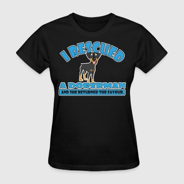 Rescue Doberman - Women's T-Shirt