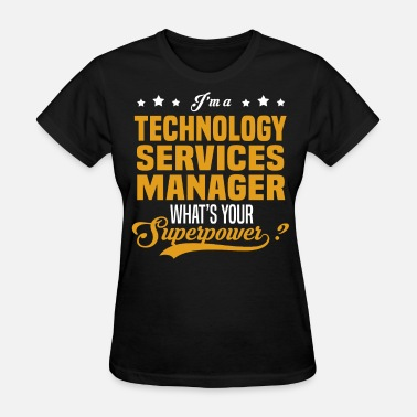 Technology Manager Girl Technology Services Manager - Women's T-Shirt