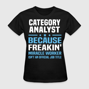 Category Analyst - Women's T-Shirt